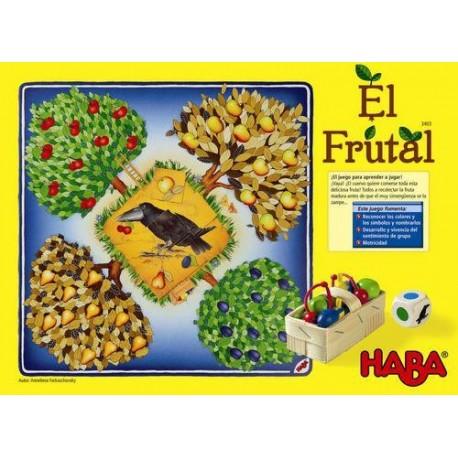 Juego de mesa infantil educativo El Frutal de Haba