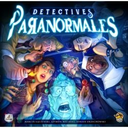 Board game Paranormal Detectives from Maldito Games and Lucky Duck Games