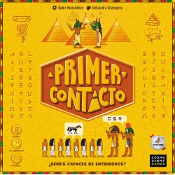 First Contact board game from Maldito Games and Cosmo Drome Games