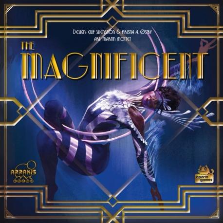 Comprar juego de mesa The Magnificent de Arrakis Games