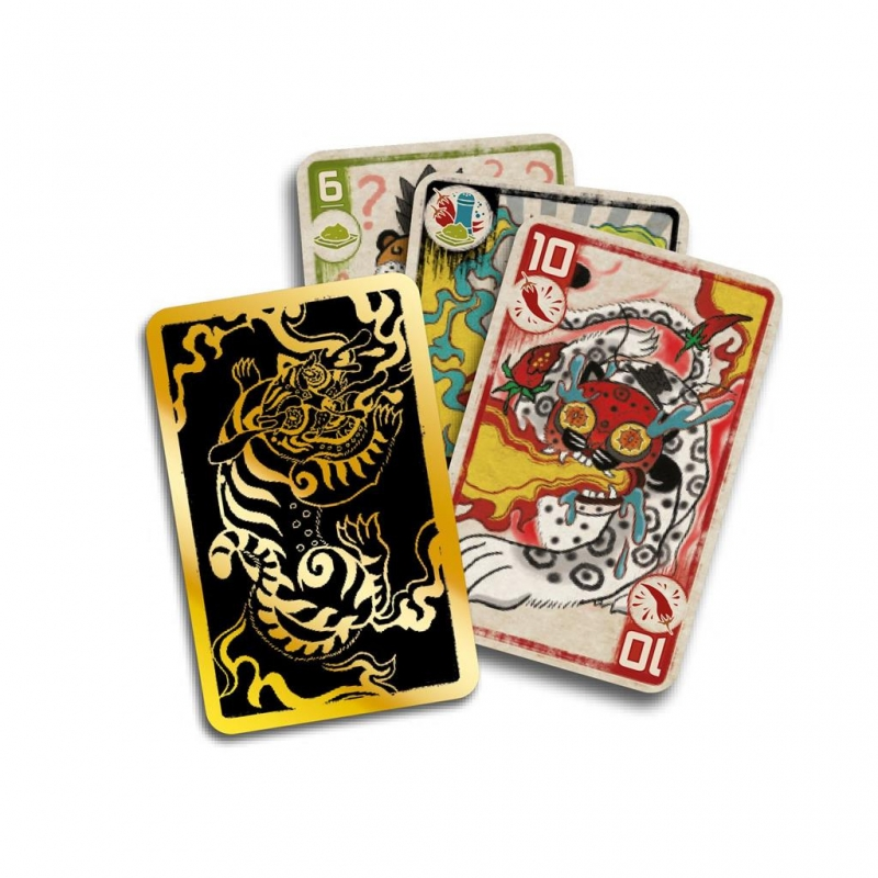 DE for 2-6 Players Age 10 years Card Game Spicy
