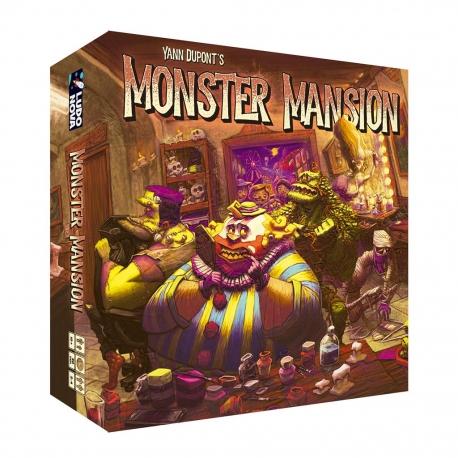 Monster Mansion card game from Ludonova 0793588575175