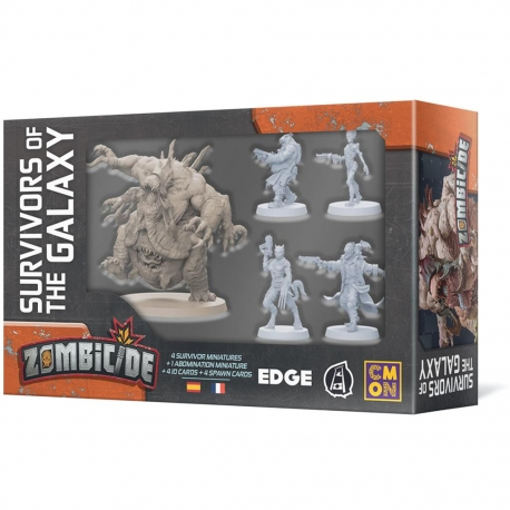 Zombicide Survivors of the Galaxy expansion from Edge Entertainment 8435407629714