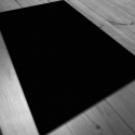 Neoprene mat 150x90 cm - PLAIN BLACK