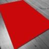 Tapete de neopreno 150x90 cm - Rojo Liso
