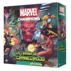 Expansión La Tiranía de Cráneo Rojo para Marvel Champions Lcg Juegos de Cartas de Fantasy Flight Games