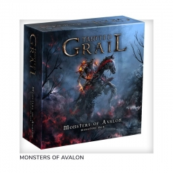 Awaken Realms Tainted Grail: Monsters Of Avalon expansion board game