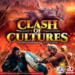 Board game Clash of Cultures Monumental Edition from Maldito Games