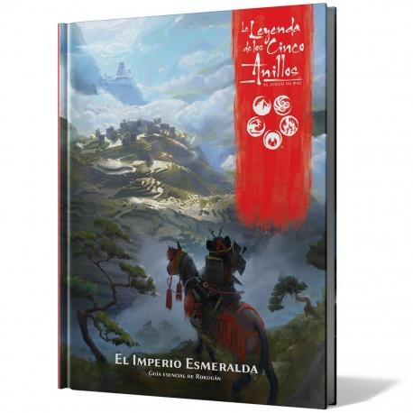 Expansión La Leyenda de los Cinco Anillos El Imperio Esmeralda de Fantasy Flight Games