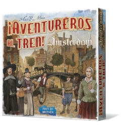 Table game ¡Ticket to Ride! Amsterdam from Days of Wonder