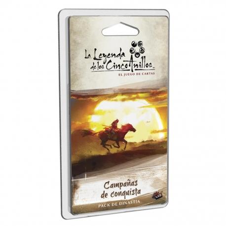 La Leyenda De Los Cinco Anillos Lcg: Campañas de conquista de Fantasy Flight Games