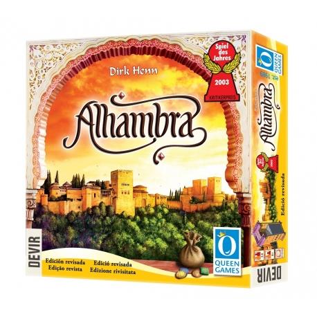 Comprar juego de mesa Alhambra de Devir y Queen Games
