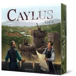 Caylus 1303 es la más que esperada reedición mejorada del juego de mesa de construcción Caylus de Space Cowboys