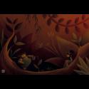 Neoprene mat 60x90 - Forest
