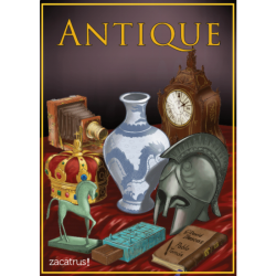 Juego de cartas Antique de Zacatrus