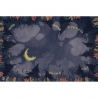Neoprene mat 60x90 - Night