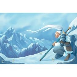 Tapete de neopreno 60x90 - Nieve de Zacatrus
