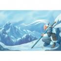 Neoprene mat 60x90 - Snow