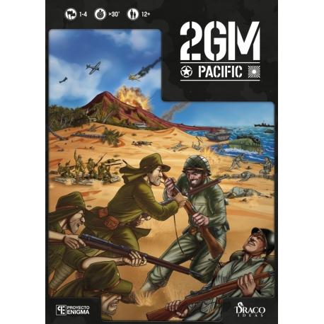 Juego de mesa 2GM Pacific (WWII wargame) de Draco Ideas