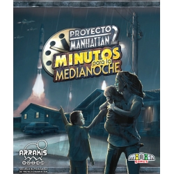 The board game Manhattan Project 2: Minutes to Midnight from Arrakis Games