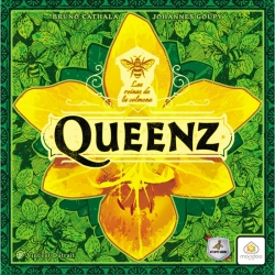 Become a famous beekeeper and compete for fame and fortune in the Queenz board game from Maldito Games