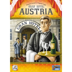 Grand Hotel Austria board game from Maldito Games