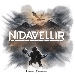 Strategy board game Nidavellir by Maldito Games