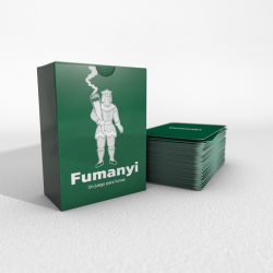 Fumanyi is the first and only party game that is played while smoking