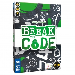 In Break the Code, each player tries to deduce the codes that the rest of the players hide behind their screens