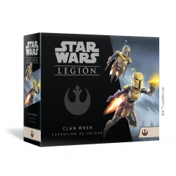 Juego de miniaturas Star Wars: Legion Clan Wren Expansión de unidad de Fantasy Flight Games