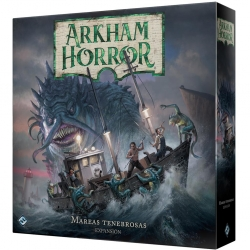 Board game expansion Arkham Horror Dark tides of Fantasy Flight Games