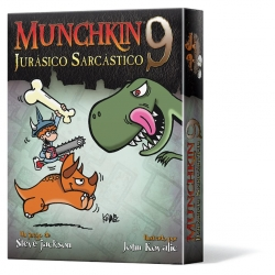 Juego de cartas Munchkin 9: Jurásico Sarcástico de Edge Entertainment