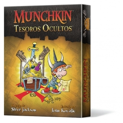 Munchkin Hidden Treasures Card Game from Edge Entertainment