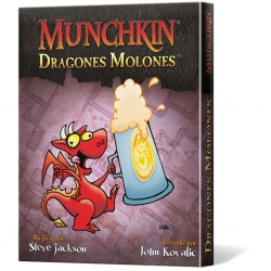 Juego de cartas Munchkin Dragones Molones de Edge Entertainment
