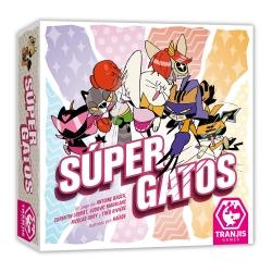 Juego de cartas familiar Súper Gatos de Tranjis Games