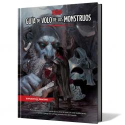 Libro Guía de Volo de los Monstruos de Dungeons & Dragons de Edge Entertainment