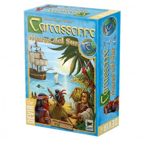Caja del juego Mares del Sur Carcassonne
