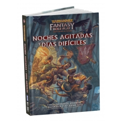 Busy nights and hard days book from Devir's Warhammer RPG 8436589620643