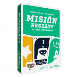 Rescue Mission card game from Zacatrus