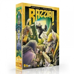 Razzia! is the card version of the classic board game Ra by Reiner Knizia