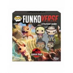 POP! Funkoverse Strategy Game - Jurassic Park 4 figuras Funko en Español