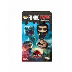 POP! Funkoverse Strategy Game - Jurassic Park 2 figuras Funko en Español