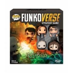 POP! Funkoverse Strategy Game - Harry Potter 4 figuras Funko en Español