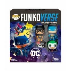 POP! Funkoverse Strategy Game - DC Comics 4 figuras Funko en Español