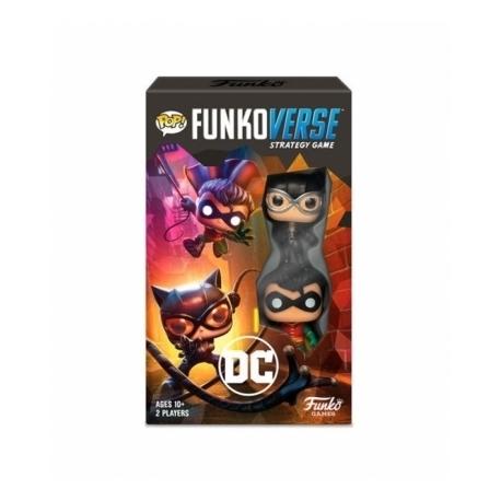 POP! Funkoverse Strategy Game - DC Comics 2 figuras Funko en Español