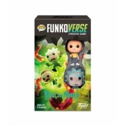 POP! Funkoverse Strategy Game - Rick and Morty 2 figuras Funko en Español