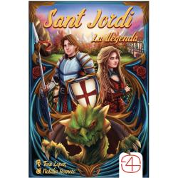 Card game Sant Jordi La Llegenda from Games 4 Gamers