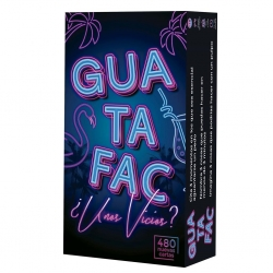 Fun party card game Guatafac Some vices?