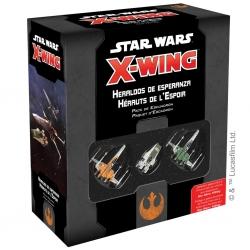 Expansión juego Star Wars X-Wing: Heraldos de esperanza de Fantasy Flight Games