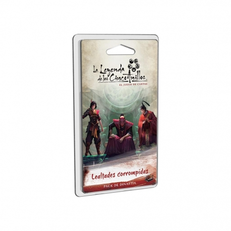 La Leyenda De Los Cinco Anillos Lcg: Lealtades corrompidas de Fantasy Flight Games